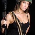 Sexy Female Marine — Stock Photo #11429830