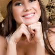 Beautiful Country Girl — Stockfoto