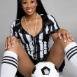 Sexy Soccer Referee — Stock Photo #11430127