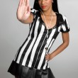 Stock Photo: Sexy Referee