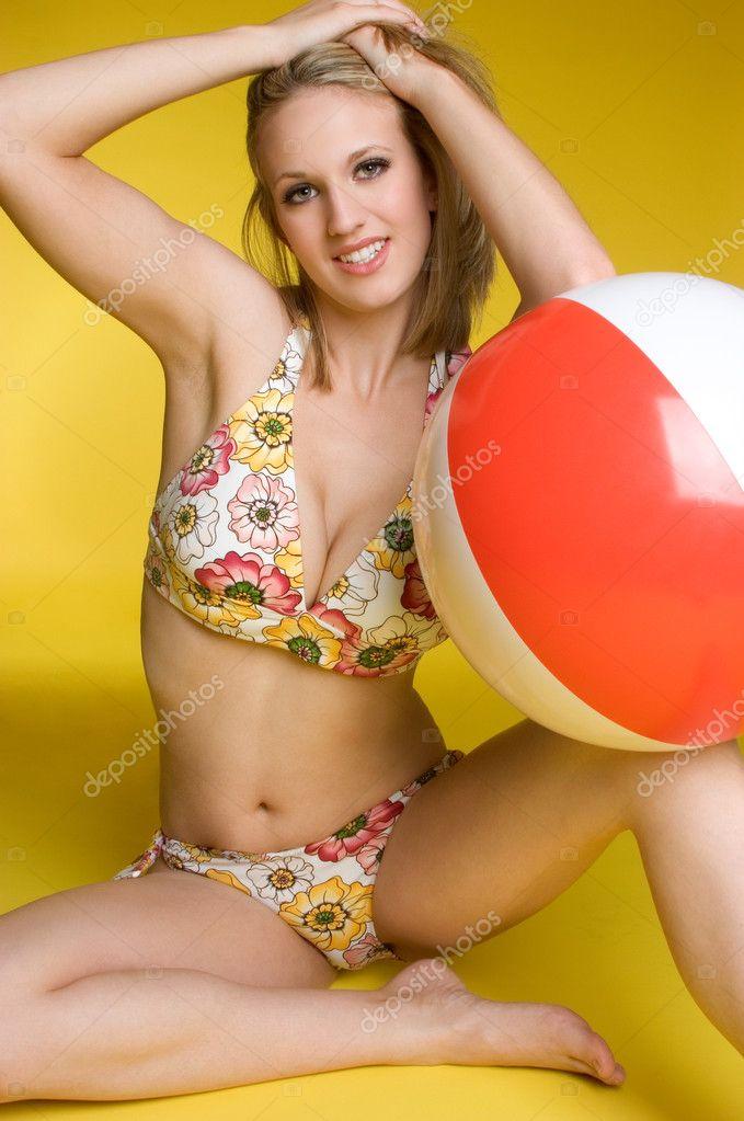 beach ball porn