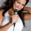 Singing Girl — Stock Photo #11551047