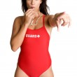 Lifeguard Blowing Whistle — Stock Photo