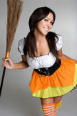 Halloween Witch Costume — Stockfoto