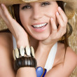 Smiling Country Girl — Stock Photo #11716857