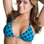Mädchen tragen bikini — Stockfoto