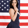 Navy Girl — Foto de stock #11740723