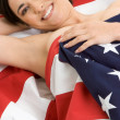 Patriotic Woman — Stock Photo #11740726