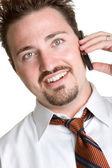 電話の男 — ストック写真