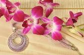 Naszyjnik z kwiatów — Zdjęcie stockowe
