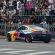 Stockfoto: UkrainiDrift Champion Alex Grinchuk drive Niss350Z, Red Bull Racing Drift Team
