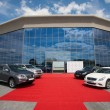 Stockfoto: Presentation and test drive new Lexus, Infiniti and Porsche