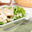 Chicken cesar salad - Stock Photo