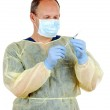 Doctor with a syringe — Stock Photo #11148241