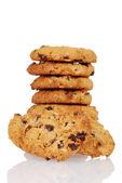 Homemade oatmeal raisin cookies — Stock Photo