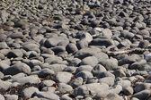 Mönster av stenar på stranden — Stockfoto