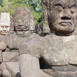 Statues of Angkor Thom — Stock Photo