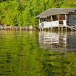 Stock Photo: Floating Hut