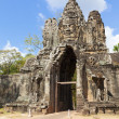 South Gate to Angkor Thom — Stock Photo