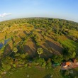 Royalty-Free Stock Photo: Aerial view of Cambodian countryside