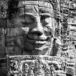 Faces of Bayon temple - Stock Photo