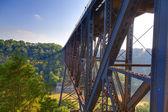 Järnvägsbro — Stockfoto
