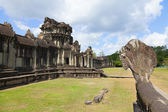 Angkor Wat outer wall — Stock Photo