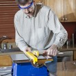 Tile Saw - Stock Photo