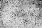 Angkor Wat bas-reliefs — Stock Photo