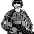 Stock Photo: US marine