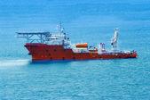 Tugboat underway — Stock Photo