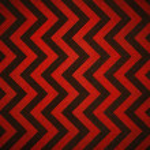 Retro red background stripes — Stock Photo