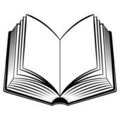 Open Book — Stock Vector