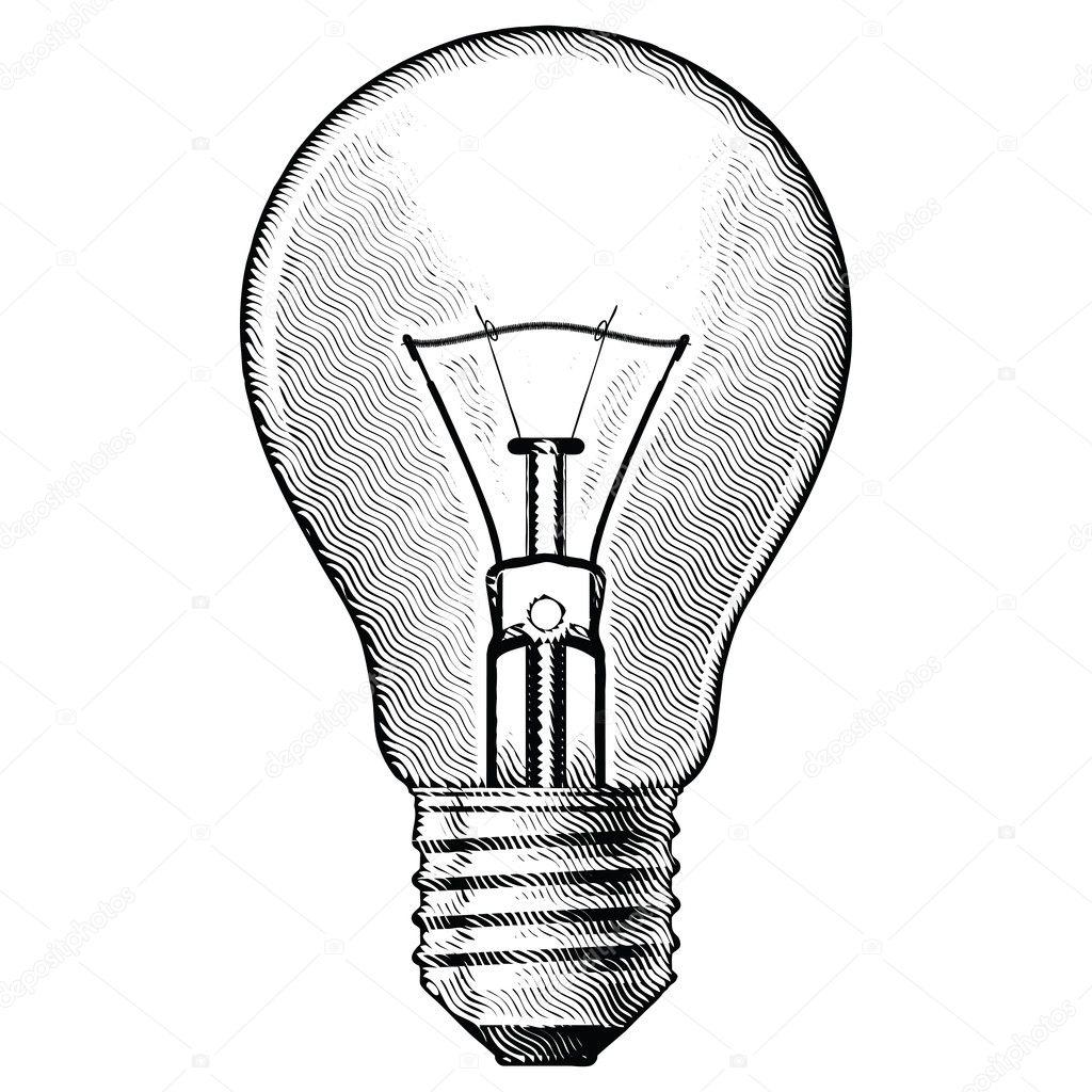 Нарисовать лампочку своими руками 59