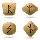 Runes — Stock Vector