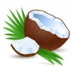 ������, ������: Half a coconut