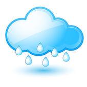 облака — Cтоковый вектор