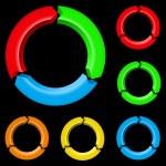 Colorful arrows — Stock Vector #11484937