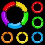 Colorful arrows — Stock Vector #11485625