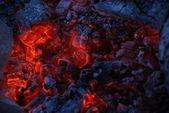 Požár uhlí — Stock fotografie