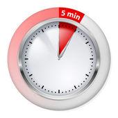 Timer pictogram — Stockvector