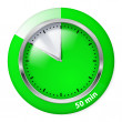 Timer icon — Stock Vector