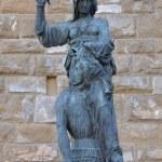 Art of Florence Judith killing Holofernes — Stock Photo