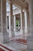 Terraces column in Montecatini Terme Italy — Stock Photo