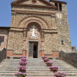 The historic church in Chianti Tuscany Italy Pazano — Stock Photo