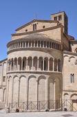 Arezzo Apse of Romanesque Santa Maria della Pieve Italy — Stock Photo