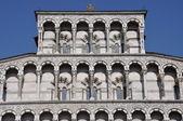 Facade Dome Duomo di Lucca Italy Tuscany — Stock Photo