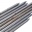 Nails sharp metal rods — Stock Photo
