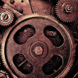 Old gears - Stock Photo