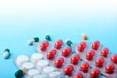 Opakowania tabletek — Zdjęcie stockowe